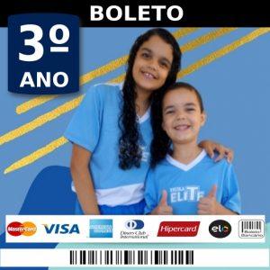 BOLETO 3 ANO - ESCOLA ELITE