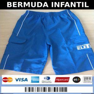 BERMUDA INFANTIL - ESCOLA ELITE